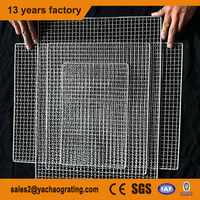 alibaba gold supplier galvanized barbecue grill wire mesh for sale (iso factory)