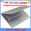 2015 Newest 13 inch Android Laptop with Bluetooth WIFI 713F