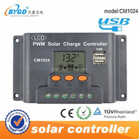 10 Amp 12V 24V Auto Solar Charge Controller for Solar Panel ,Battery Use Controller
