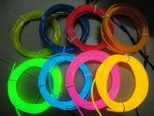 Colourful waterproof el wire,el strip,el cable for novel decoration