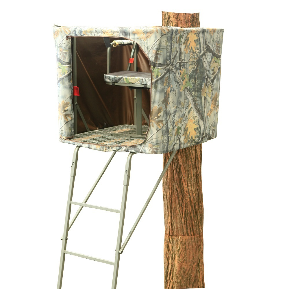 Ts007 extreme 17 7 39 39 one man hunting ladder stand steel for One person tree stand