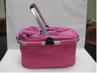 Expandable drawstring top of Picnic Cooler Basket Bags JLD-08303