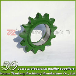 According to drawings sprockets and chains filtering equipment