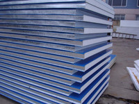 EPS steel sandwich panel for building and handmade type is also available