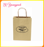 2016 High Quality Cheap Customized Paper Bag with Logo Print