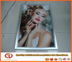 Ultra slim led light box ,led poster sign display
