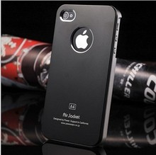 Air Jacket Circle Metal Cell Phone Case for Iphone5s/5c/4/4s