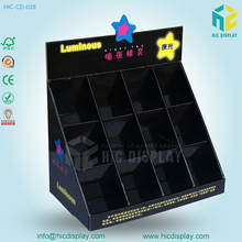 Paper Material pop up counter top display for night light display