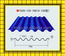 Hot selling cheap building metal steel galvanized roofing tile