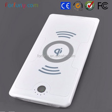Electromagnetic smart charger with wireless battery charger power bank 6000ma