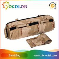 hot sale strength training fitness Pu Boxing Bag, nylon cordura exercise power sandbag, home gym equpipment sandbag