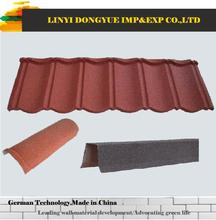 Easy install stone coated metal roof tile photovoltaic clay roof tile price