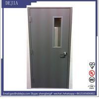 high-tec non flammable plastic fire door