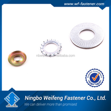 Top quality flat Washer DIN125A/DIN9021 carbon steel hardened plain flat washer Galvanized flat washer
