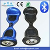 CE approval 10 inch 2 wheel self balancing electric scooter with led flashing light and bluetooth