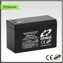 Rechargeable 12v 7ah ups external battery