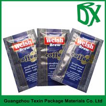 Three side seal Coffee Sachet Packaging For Coffee bean,ground coffee