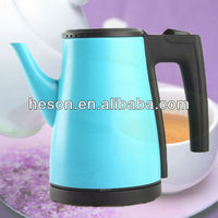 0.8L Popular spray color home appliances stainless steel cordless electric teapot