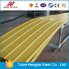 High Anti-Corrosion Bright Red Prepainted Corrugated Steel Sheet for Construction Applied