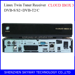 Newest-- Cloud ibox iii Digital Satellite TV Receiver 3-IN-1 Tuner DVB-S/S2 +DVB-C +DVB-T Cloud ibox 3 OpenPli 4.0 free IPTV