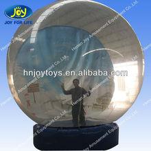 Transparent Inflatable Christmas Ball Giant