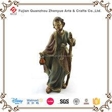 Polyresin 2016 ventas calientes personalizada resina estatua religiosa