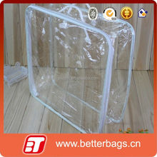 2015 New design fashion pvc pipe handle bags