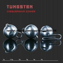 Plomadas de tungsteno para la pesca/de tungsteno de plomo de cheburashka-1g