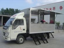 fiberglass van light van dry box/refrigerated truck body