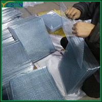 Stainless Steel Crimped Barbecue wire mesh for Japan and South Korean barbecue wire mesh
