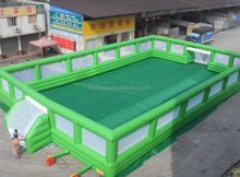 inflatable soccer court for party / inflatable soccer field portable / inflatable football court for sale