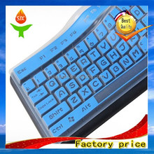 Factory price silicone waterproof laptop/tablet keyboard cover/protector JX-K001