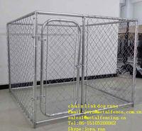 6'x10'x6' big dog playing chain link mesh dog kennels