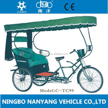 TC99 CE Certification and Open Body Type 2013 classic tricycle car for passenger