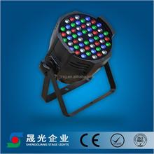 LED par light changeable color studio stage light 54x3w