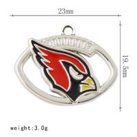 Custom diy bracelet nfl seattle seahawks floating charms