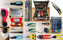 Fiber networking equipment optical fiber tool kit
