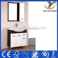 Fashion and modern design ready made bathroom cabinet