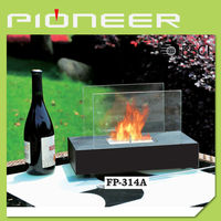 2015 freestanding ethanol outdoor fireplace