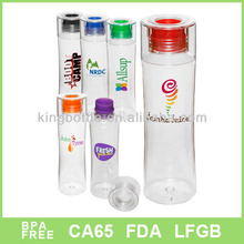 Plastic health care drink water bottle