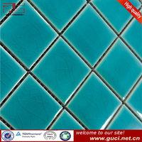 6MM thickness ceramic mosaic floor tiles