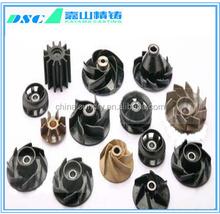 precision steel casting pump impeller