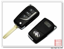 Remote control cover for Toyota Toy43 folding key shell 3 button (AS007031)