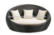 Modern Contemporary Patio Bed Sun Lounger