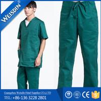 medical uniform women's/man's wholesale fabric for nurses uniforms