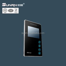 """New design touch keypad 4.3"""" color display doorphone video intercom for apartment"""
