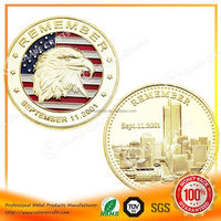 Custom copper america eagle metal coin customized