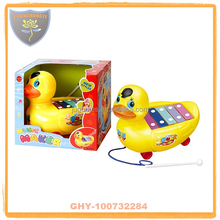 New coming pull line duck Toy organ for sale with safety certificate