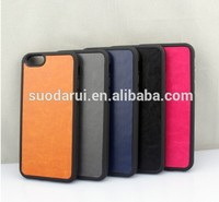 Mix Colors For iPhone 6 High Quality Leather Skin TPU+PC Hard Case
