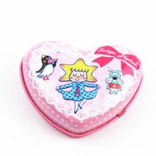 Alibaba China supplier/wholesale/pink heart shape chocolate/candy tin boxes/cans/pots for candy/mint/gum/garden/children/cookie